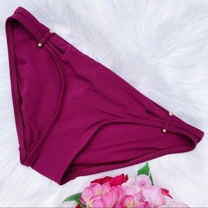 Robin Piccone Luca Swimsuit Bottoms Size M NEW $86